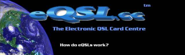 E QSL Electronic QSL card site